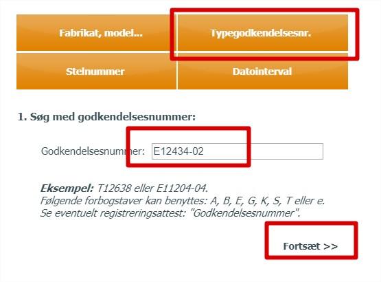 Typegodkendelsesopslag hos Fstyr.dk