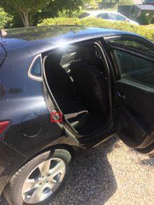 Renault Stelplade i dørfals bagdør