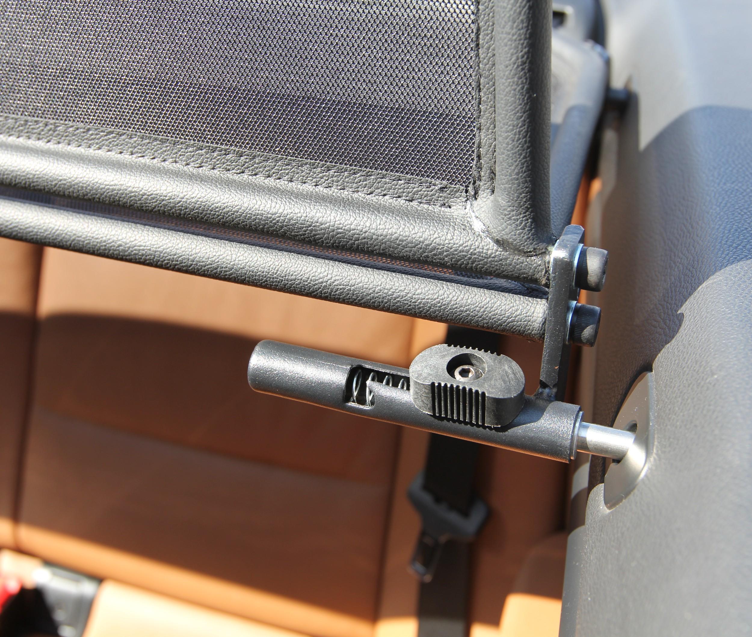 Kliksystem til vindskærm - montering