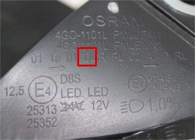 E-Mærke med D-Mærke til Xenon godkendelse