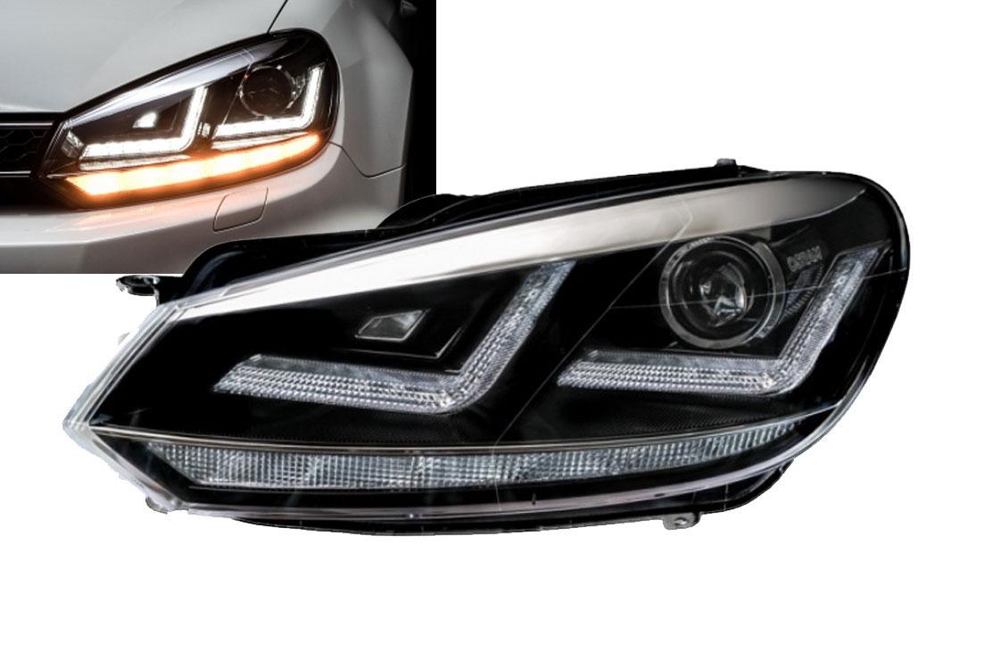 VW Golf 6 Xenarc Osram Xenon Forlygter
